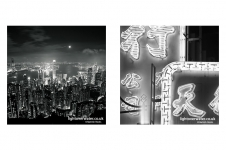 Moon over HK | Street Signs