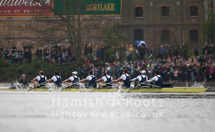 Oxford powering across the finish line